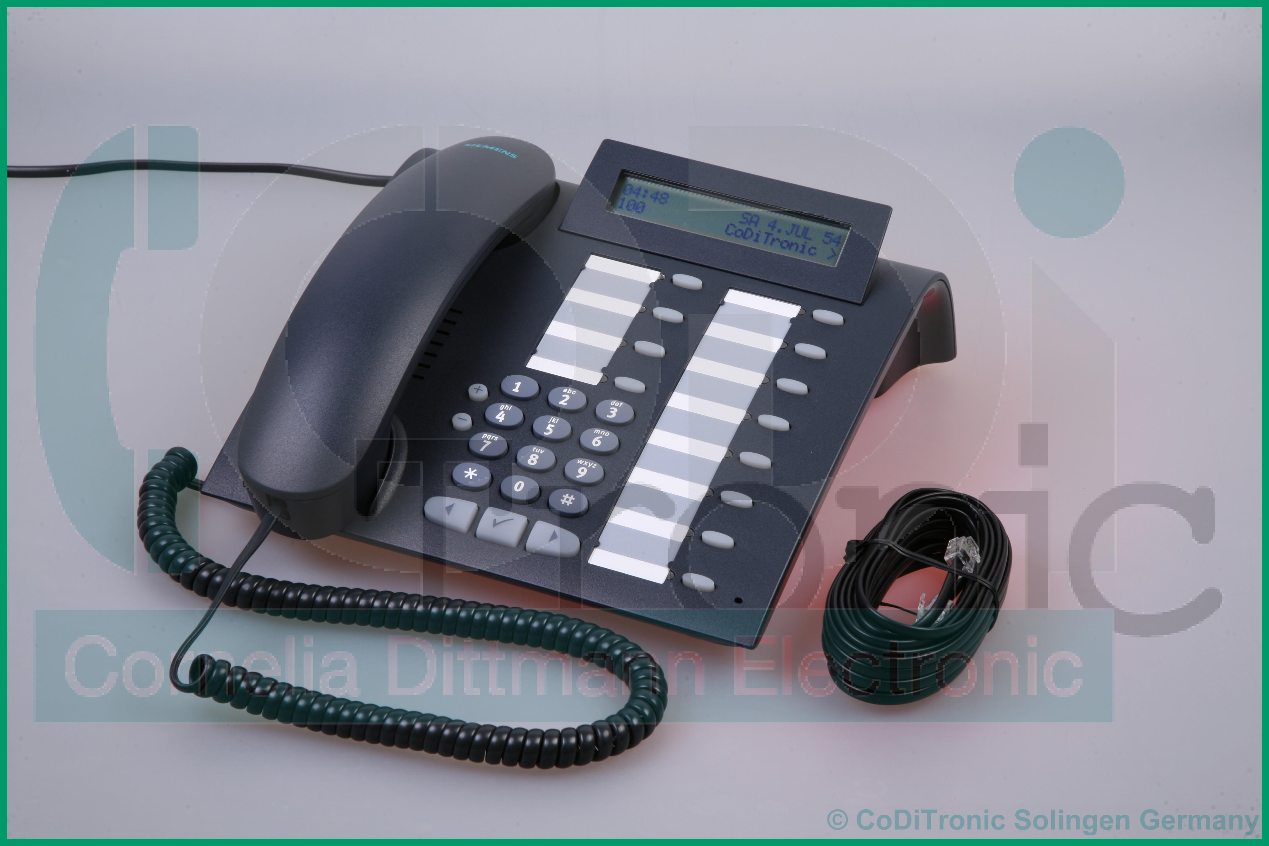 siemens optipoint 500 standard phone manual